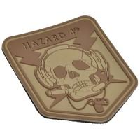 Нашивка-патч Hazard 4 Special Operator Skull (койот)