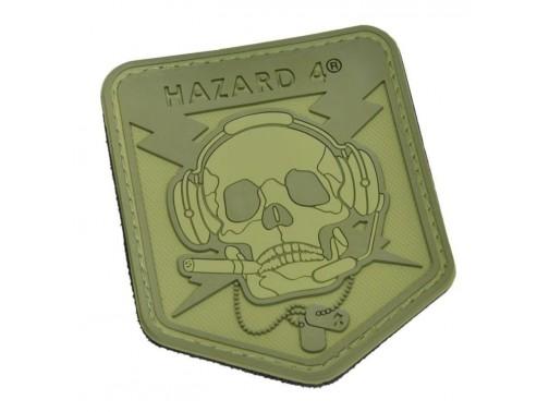 Нашивка-патч Hazard 4 Special Operator Skull (зеленый)