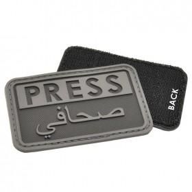 Нашивка-патч Hazard 4 Press (черный)
