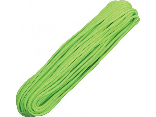 Паракорд 550, 30 м ( неон зеленый)