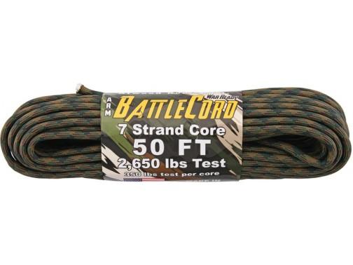 Шнур Atwood Rope MFG BattleCord, 15 м (woodland)