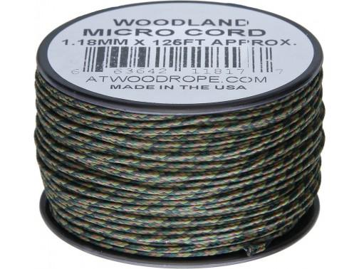 Микрокорд Atwood Rope MFG, 38 м (лесной камуфляж)