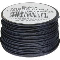 Микрокорд Atwood Rope MFG, 38 м (черный)
