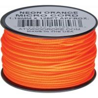 Микрокорд Atwood Rope MFG, 38 м (неон оранжевый)