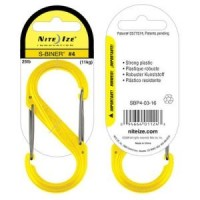 Карабин Nite Ize S-Biner #4 пластик (желтый)
