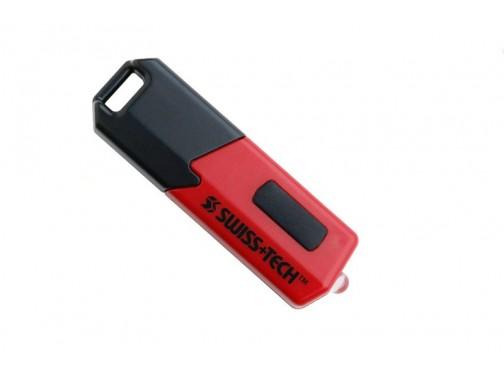 Фонарь Swiss+Tech USB Rechargeable Flashlight