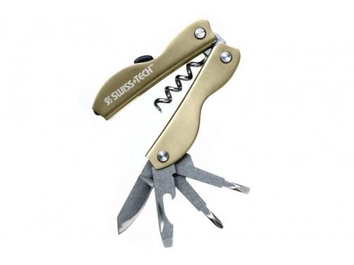 Мультитул Swiss+Tech Vintage Corkscrew (золотистый, подарочная упаковка)