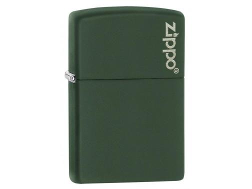 Зажигалка Zippo Green Matte with Zippo Logo 221ZL