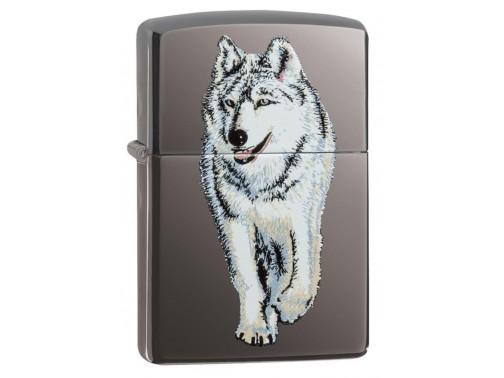 Зажигалка Zippo Black Ice Wolf 769