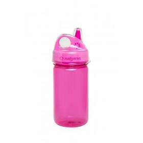Бутылка Nalgene Grip-n-Gulp с крышкой (розовый)