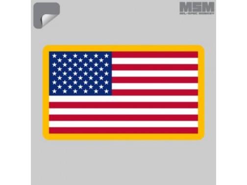 Наклейка Mil-Spec Monkey US Flag