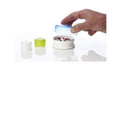 Набор контейнеров humangear GoTubb Small (прозрачный, зеленый, синий)