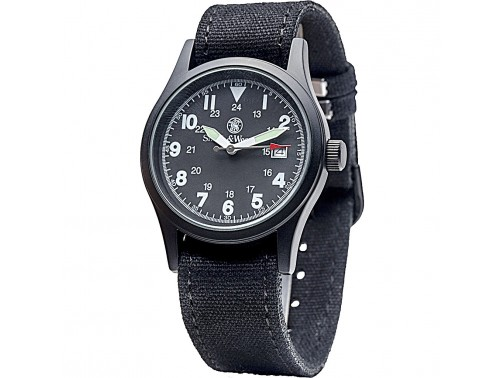 Часы Smith & Wesson Military Watch (черный циферблат)