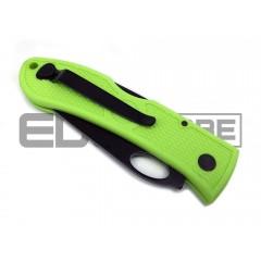 Складной нож Ka-Bar Dozier Zombie Folding Hunter (рукоять - FRN зеленый, клинок - черный)