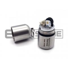 Зажигалка Maratac Stainless Split Peanut Lighter (нержавеющая сталь)