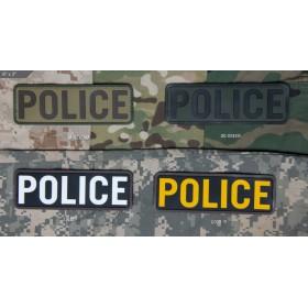 Нашивка-патч Mil-Spec Monkey POLICE 6x2 (ПВХ)