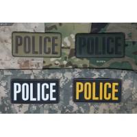 Нашивка-патч Mil-Spec Monkey POLICE 6x3 (ПВХ)