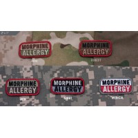Нашивка-патч Mil-Spec Monkey Morphine Allergy