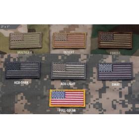 Нашивка-патч Mil-Spec Monkey US Flag (малая)