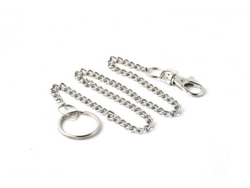 Карманная цепь с рычажковым карабином Key-Bak #7402