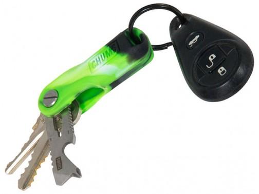 Органайзер для ключей Chums Key Quiver (ярко-зеленый)