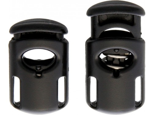 Зажим для шнура ITW Toaster Ellipse (черный)