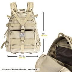 Рюкзак Maxpedition Condor (черный)
