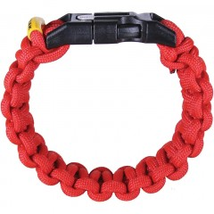 Браслет для выживания Outdoor Element Kodiak (красный)