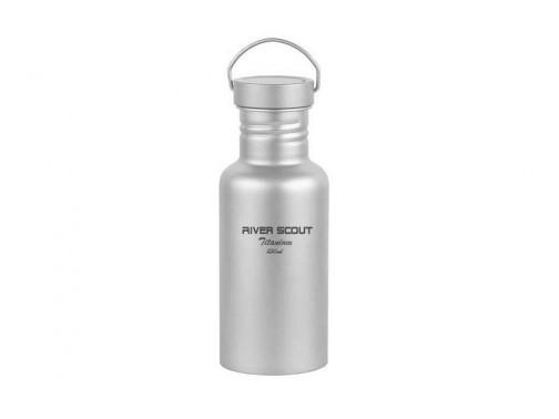 Бутылка из титана River Scout (550 мл)