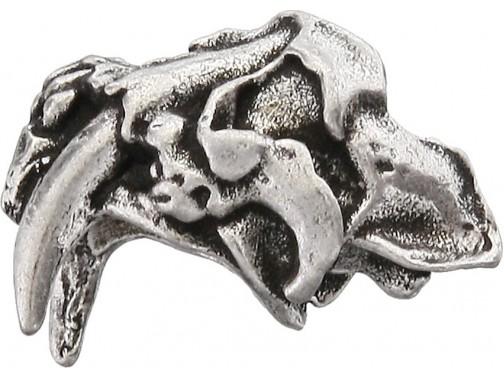 Бусина Schmuckatelli Sabretooth (олово)