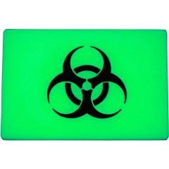 Светонакопительная нашивка-патч TEC Accessories Embrite Biohazard (зеленый)