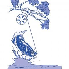 Автоматическая рыболовная катушка Yo Yo