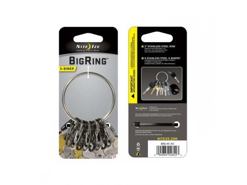 Кольцо с карабинами Nite Ize BigRing
