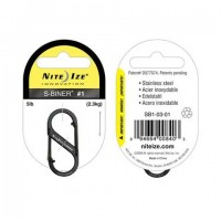Карабин Nite Ize S-Biner #1 (черный)
