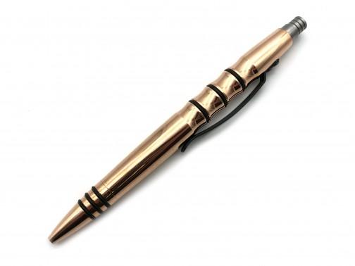 Тактическая ручка Tuff Writer Precision Press (полированная медь)