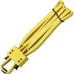 Одноразовые наручники-стяжки UZI Flex Cuff (желтый)
